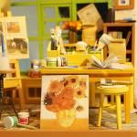 Румбокс студия художника Diy House