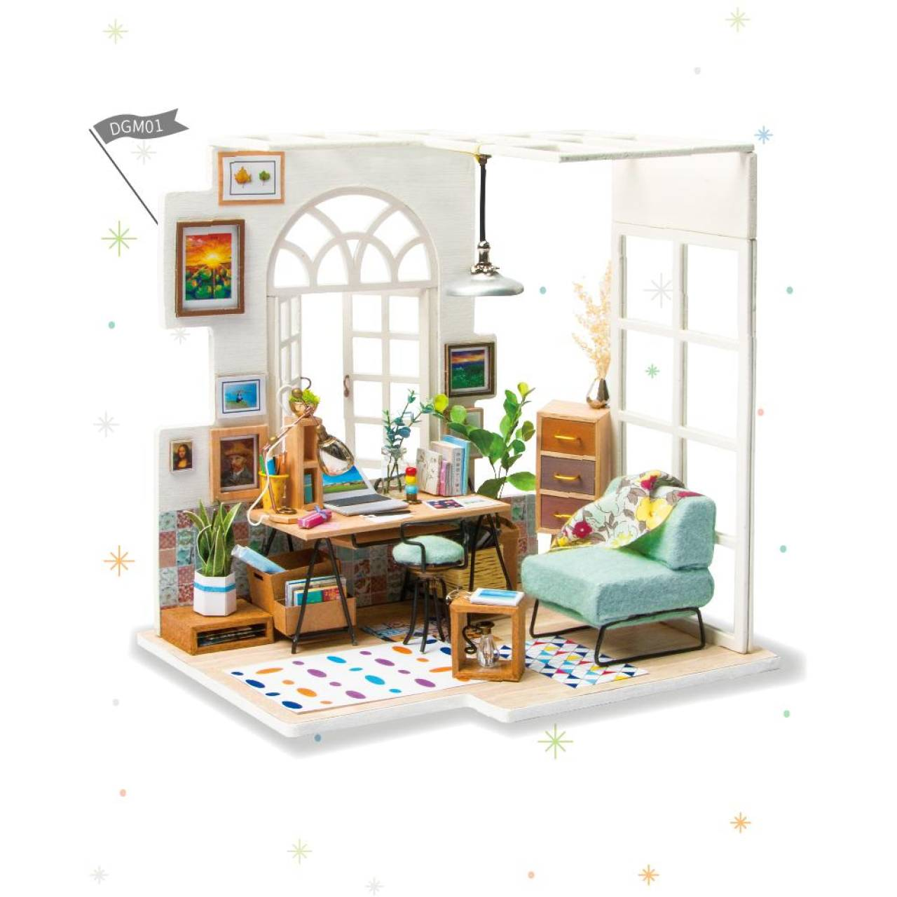 Румбокс Уютный кабинет Diy House (SOHO Time)