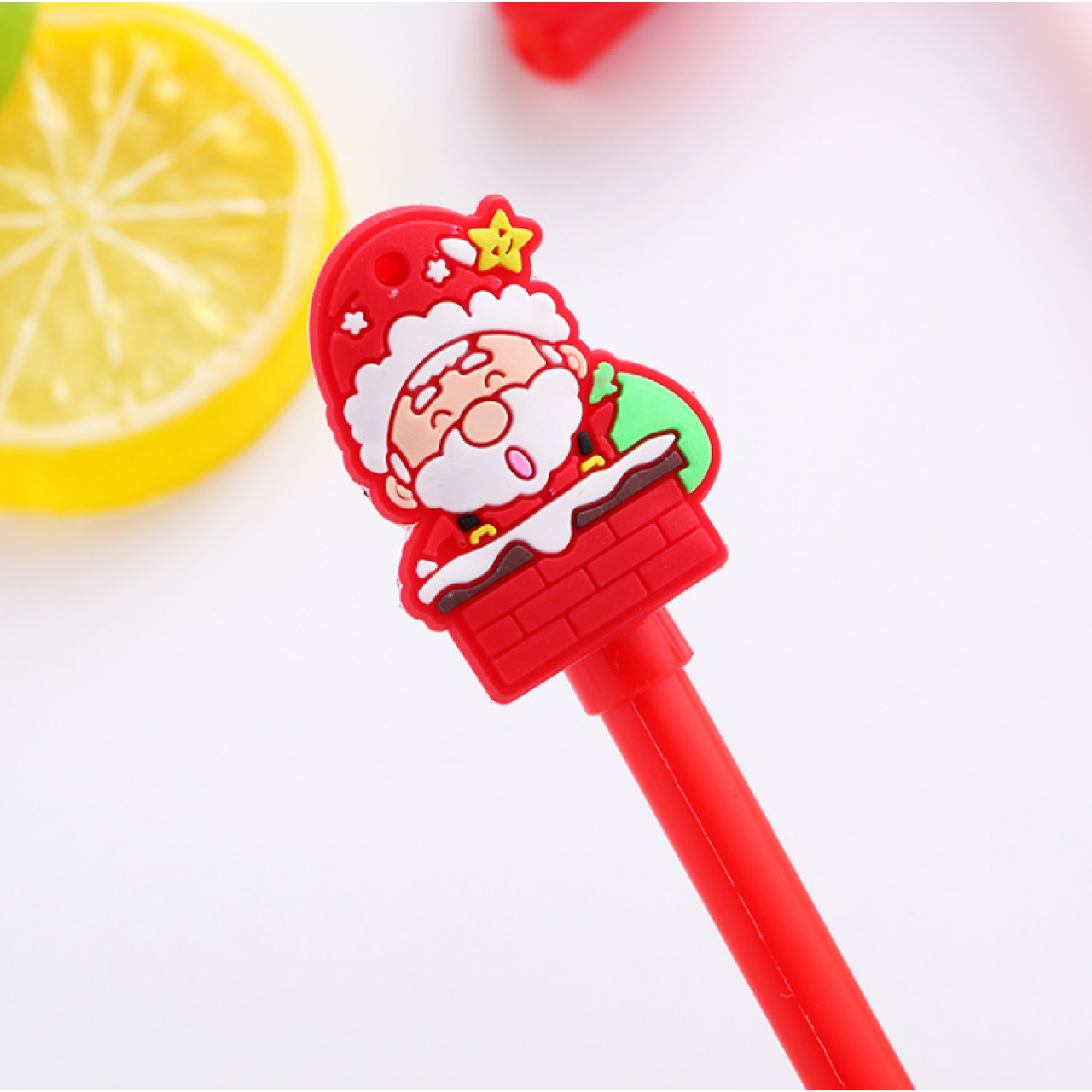 "Ручка гелевая ""Санта Клаус"""