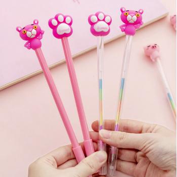 """Ручка гелевая """"Розовая пантера"""""""