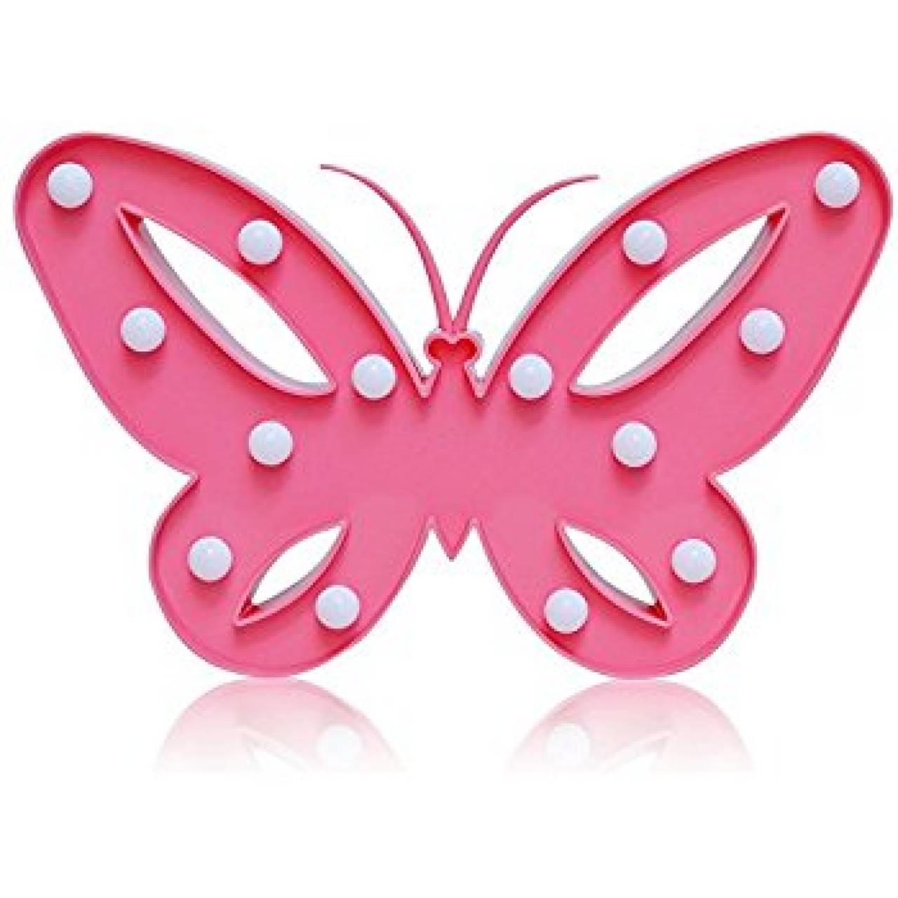 Led светильник бабочка
