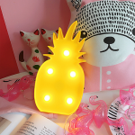 Led светильник ананас