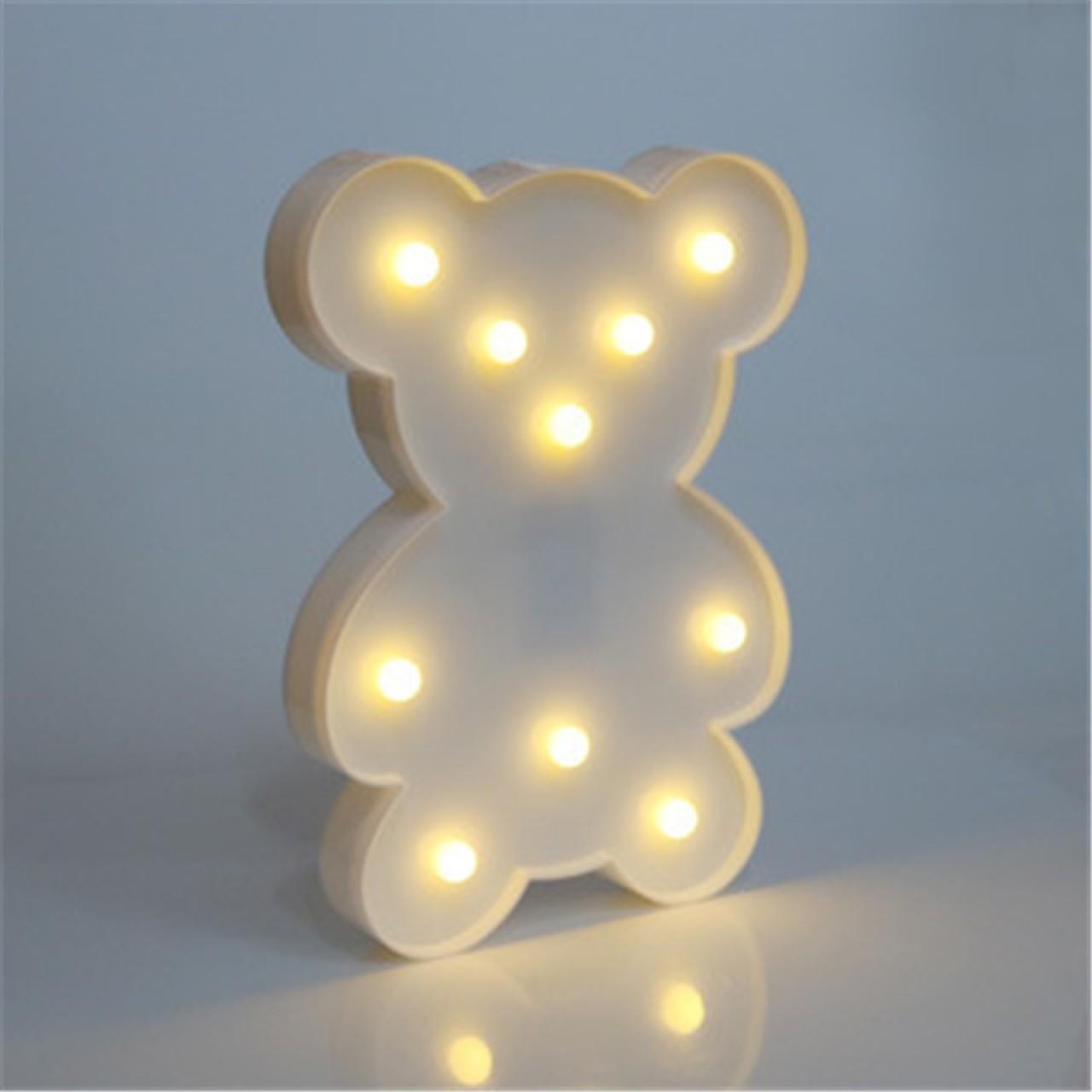 Led светильник Медведь
