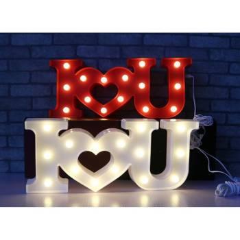 Светильник I Love You