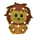Led светильник львёнок