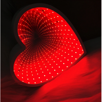 Светильник 3D Сердце