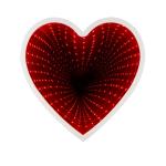 Led светильник 3D Сердце