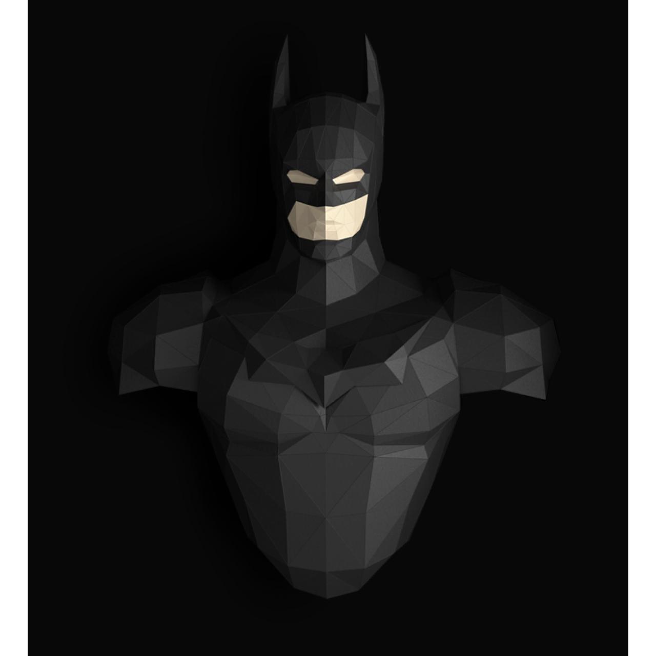 """3Д фигура из бумаги """"Бэтмен"""""""