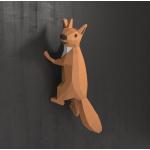 "3Д фигура из бумаги ""Белка"""