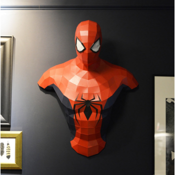 """3Д фигура из бумаги """"Человек паук"""""""