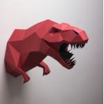 """3Д фигура из бумаги """"Динозавр T-Rex"""""""