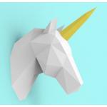 """3Д фигура из бумаги """"Единорог"""""""