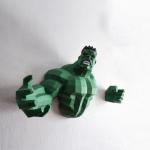 "3Д фигура из бумаги ""Халк"""