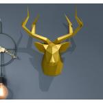 """3Д фигура из бумаги """"Голова оленя"""""""
