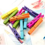 Мини-прищепки Разноцветные