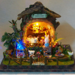 Румбокс миниатюрный театр Домик в лесу