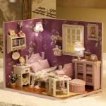 Румбокс Комната в фиолетовых тонах