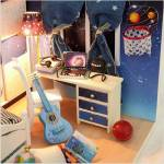 Румбокс Комната в синих тонах