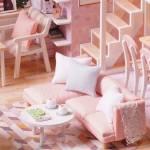 Румбокс Пентхаус в розовых тонах