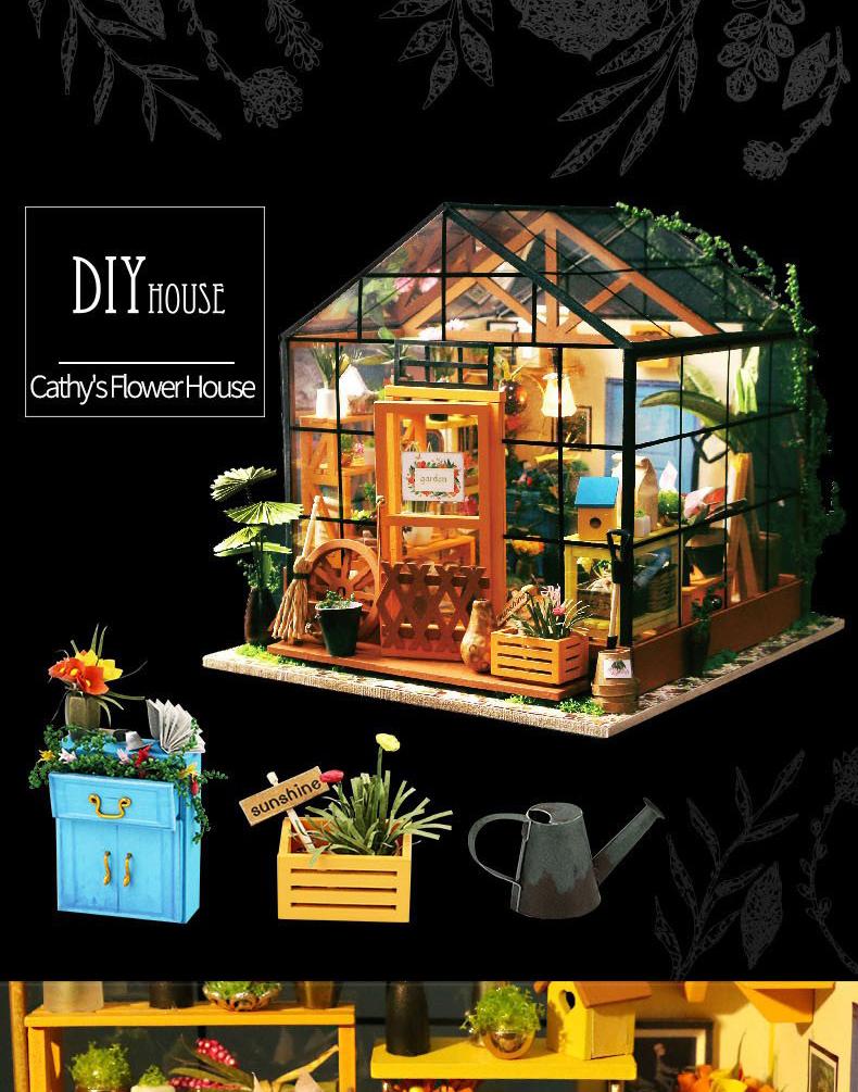 Зимний сад Cathy's flower house Diy House