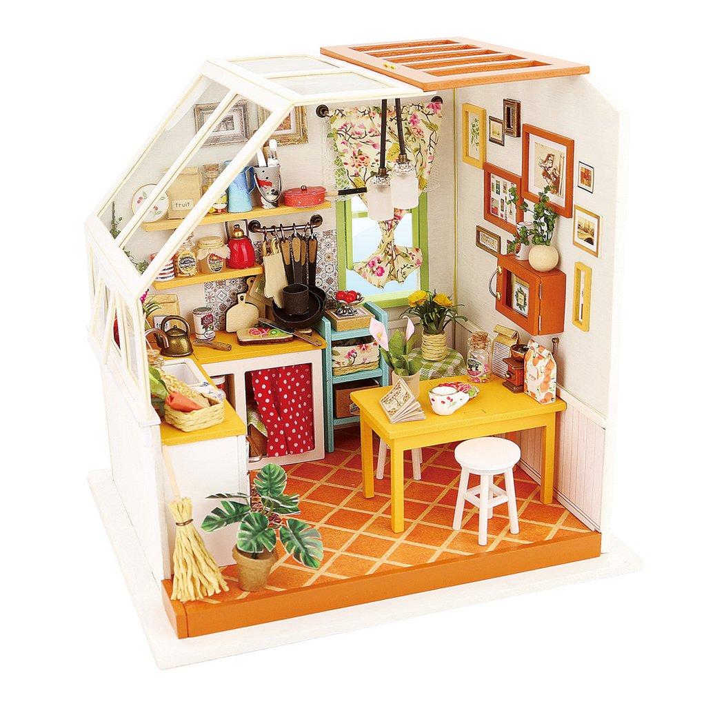 Кухня в мансарде Jason's kitchen Diy House