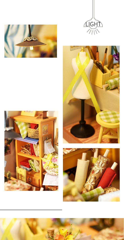Швейная мастерская Lisa's tailor Diy House